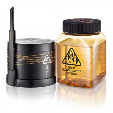 NEOGEN GOLD BLACK CAVIAR & GOLD TOX TIGHTENING PACK KIT