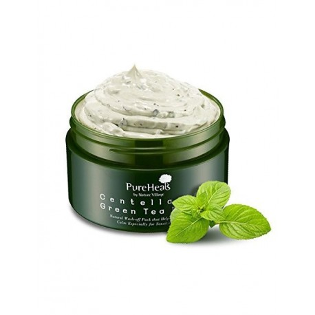 PURE HEALS CENTELLA 65 GREEN TEA PACK MASK 130 G