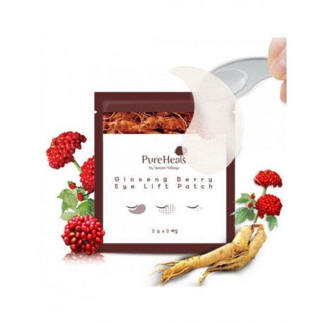 PURE HEALS GINSENG BERRY EYE LIFT PATCH 2 PARCHES