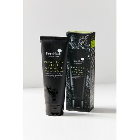 PURE HEALS PORE BLACK CHARCOAL CLEANSING FOAM 150 ML