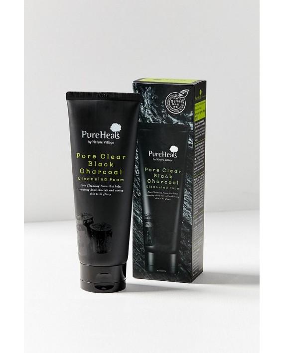 PURE HEALS PORE BLACK CHARCOAL CLEANSING FOAM 150 ML