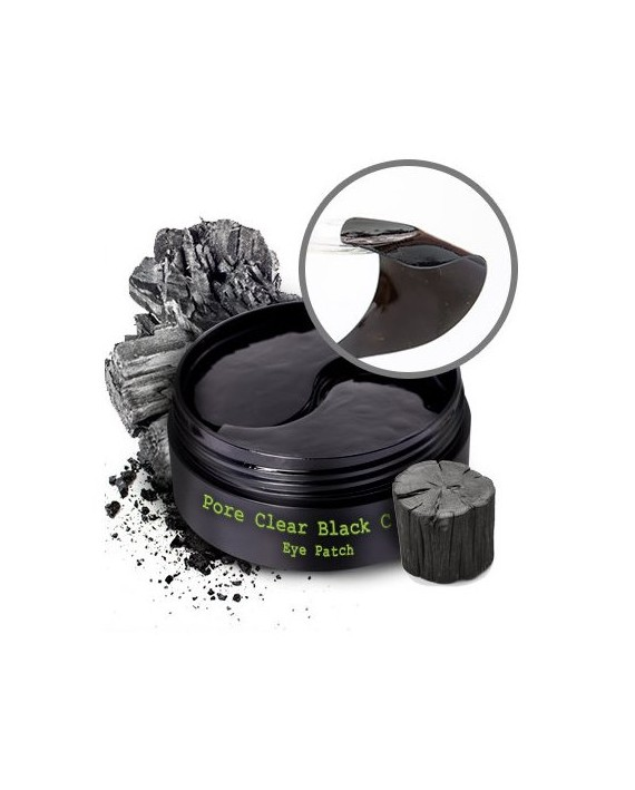 PURE HEALS PORE CLEAR BLACK CHARCOAL EYE PATCH 60 UD