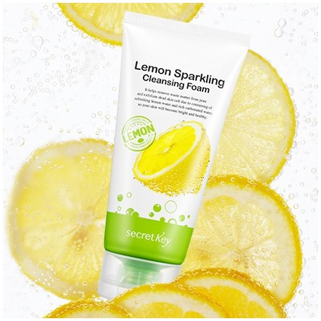 SECRET KEY LEMON CLEANSING FOAM 120 ML