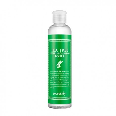 SECRET KEY TEA TREE REFRESH CALMING TONER 248 ML