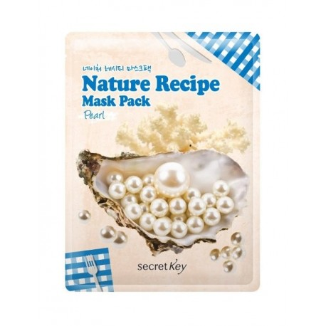 SECRET KEY NATURE RECIPE MASK PACK - PEARL