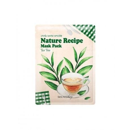 SECRET KEY NATURE RECIPE MASK PACK - TEA TREE
