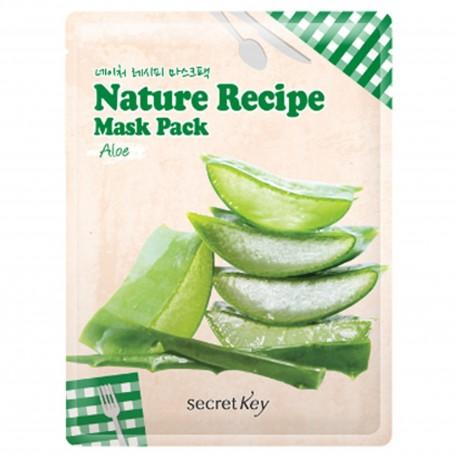 SECRET KEY NATURE RECIPE MASK PACK - ALOE