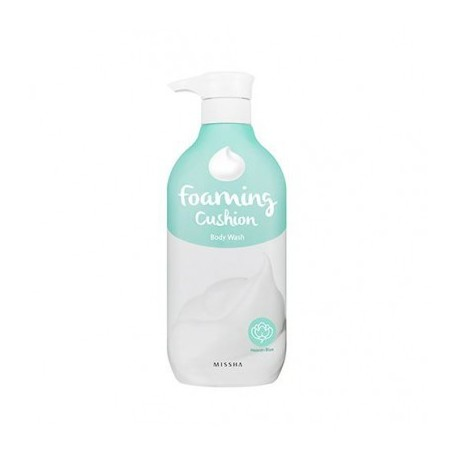 MISSHA FOAMING CUSHION BODY WASH HEAVEN BLUE 500 ML