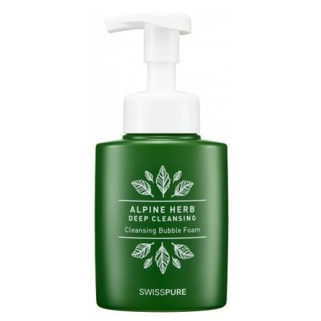 SWISS PURE ALPINE HERB DEEP CLEANSING BUBBLE FOAM