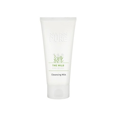SWISS PURE THE MILD EDELWEIS CLEANSING MILK 180 ML