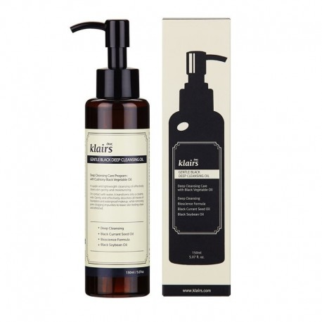 KLAIRS BLACK DEEP CLEANSING OIL