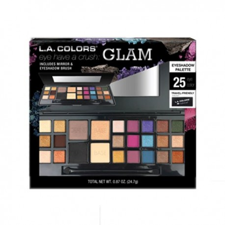 L.A. GIRL EYESHADOW PALETTE 25 COLOR GLAM