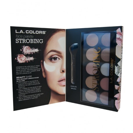 L.A.GIRL STROBING FACE PALETTE 10 COLOR