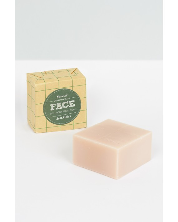 KLAIRS SOAP FACE RICH MOIST FACIAL