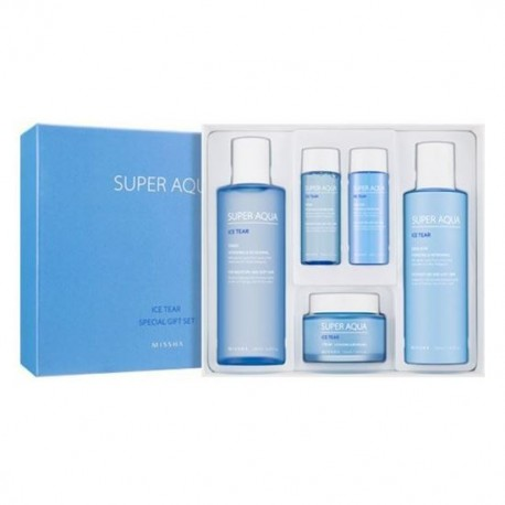 MISSHA SUPER AQUA ICE TEAR SPECIAL GIFT SET