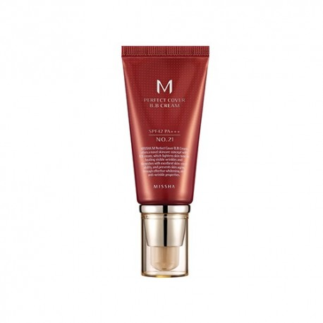 MISSHA M PERFECT COVER BB CREAM SPF42+/PA+++ Nº 21 ( LIGHT BEIGE ) 50ML
