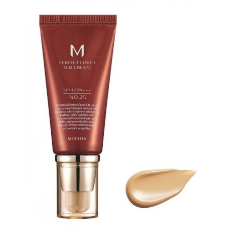 MISSHA M PERFECT COVER BB CREAM SPF42/PA+++ Nº25/WARM BEIGE 50ML