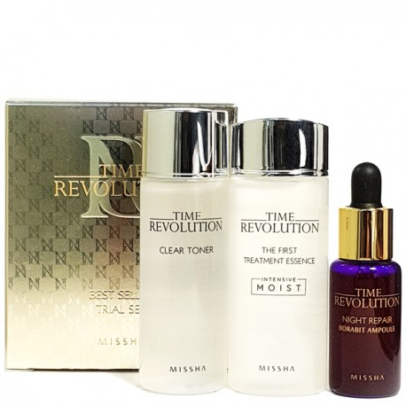 MISSHA TIME REVOLUTION BEST SELLER TRIAL SET