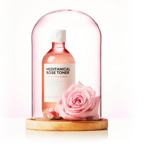 MISSHA MEDITANICAL ROSE TONER 305ML