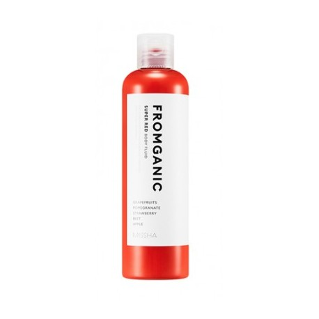 MISSHA FROMGANIC BODY FLUID (SUPER RED) 300ML