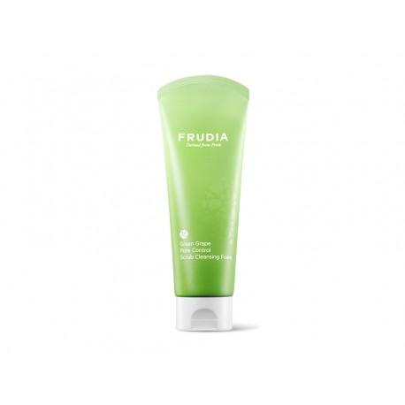 FRUDIA GREEN GRAPE PORE CONTROL SCRUB CLEANSING FOAM