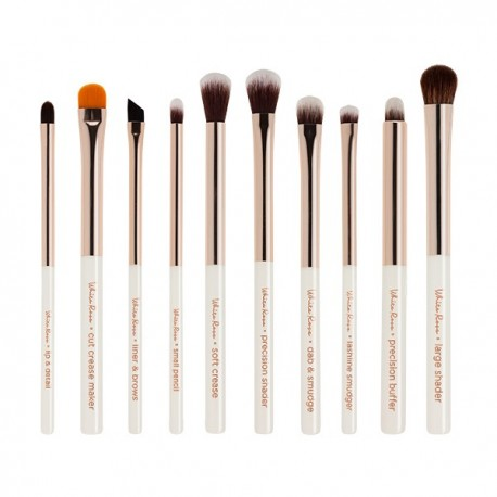 NABLA WHITE ROSE EYE BRUSH SET