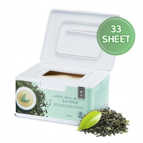 APIEU DAILY SHEET MASK - GREEN TEA / SHOOTING