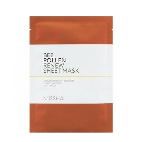 MISSHA BEE POLLEN RENEW SHEET MASK