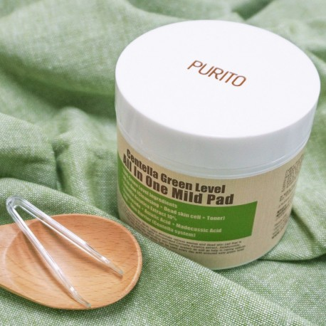 PURITO CENTELLA GREEN LEVEL ALL IN ONE MILD PAD 70 PADS