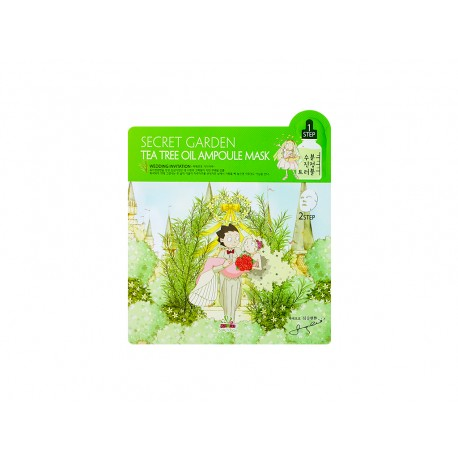 SALLYS BOX SECRET GARDEN TEA TREE OIL AMPOULE MASK