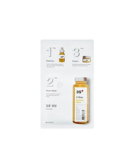 MISSHA 3 STEP NUTRITION MASK