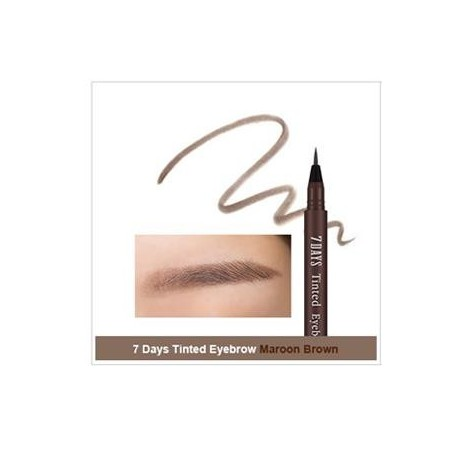 MISSHA 7DAYS TINTED EYEBROW - MAROON BROWN
