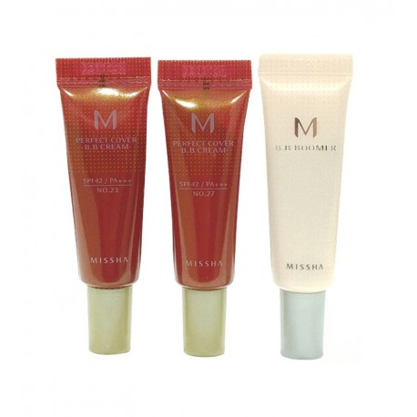 MISSHA B.B DUO TRIAL KIT ( BOOMER+ NRO 23 + NRO 27) 10ml X 3ea