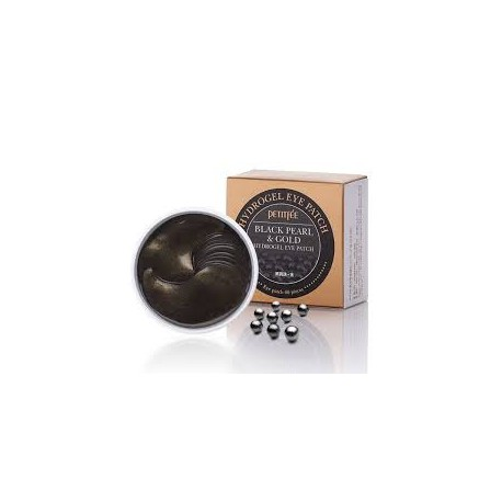 PETITFEE BLACK PEARL & GOLD HYDROGEL EYE PATCH (60uds)