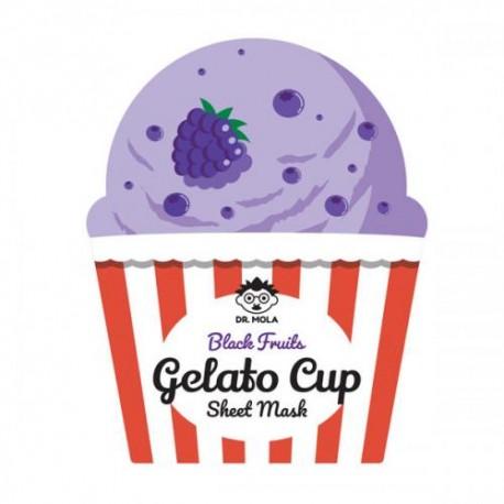 DR. MOLA BLACK FRUITS GELATO CUP MASK