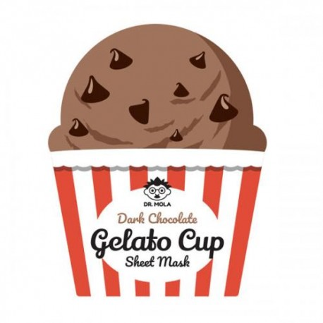 DR. MOLA DARK CHOCOLATE GELATO CUP