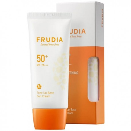 FRUDIA TONE UP BASE SUN CREAM SPF50 + PA +++ 50G LUMINOSIDAD CREMA SOLAR
