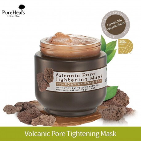 PURE HEALS VOLCANIC PORE TIGHTENING MASK 10ML