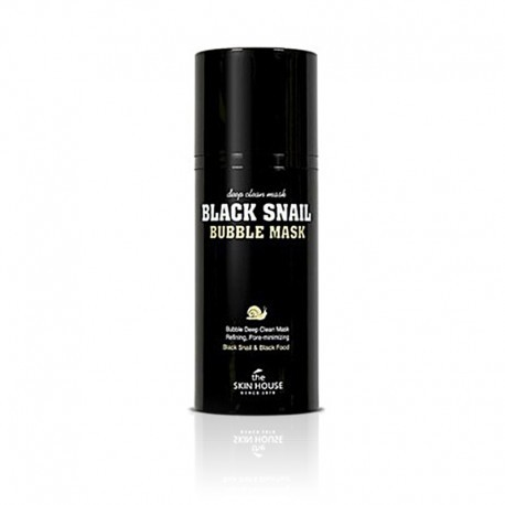 THE SKIN HOUSE BLACK SNAIL BUBBLE MASK 100ML