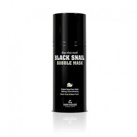 THE SKIN HOUSE BLACK SNAIL BUBBLE MASK 100ML