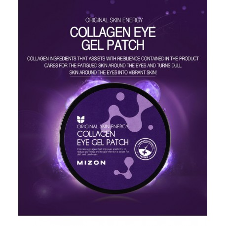 MIZON COLLAGEN EYE GEL PATCH (60 parches)