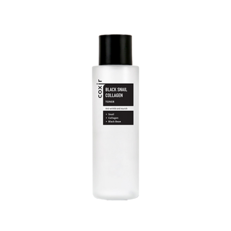 COXIR BLACK SNAIL COLLAGEN ESSENCE TONER 150ML