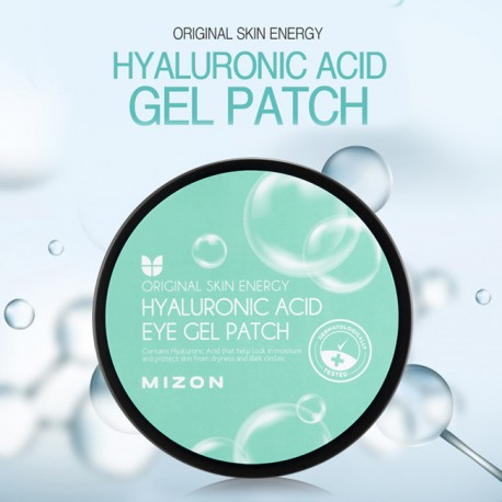 MIZON HYALURONIC ACID EYE GEL PATCH 60 PIEZAS / 90G
