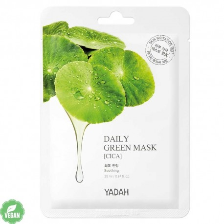 YADAH DAILY GREEN CICA MASK