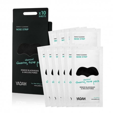 YADAH CHARCOAL CLEANSING NOSE PACK 10 PCS