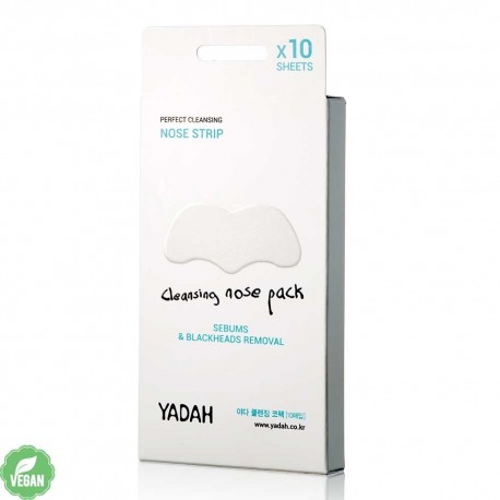 YADAH CLEANSING NOSE PACK 10 UDS
