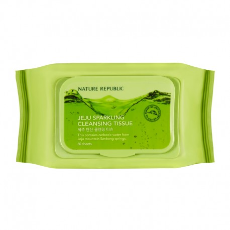NATURE REPUBLIC JEJEU SPARKLING CLEANSING TISSUE