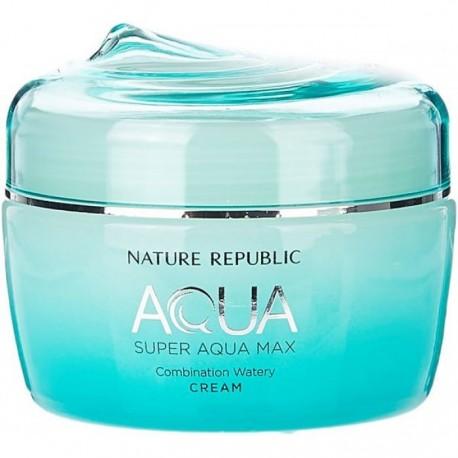 NATURE REPUBLIC AQUA SUPER AQUA MAX COMBINATION WATERY CREAM 80ML