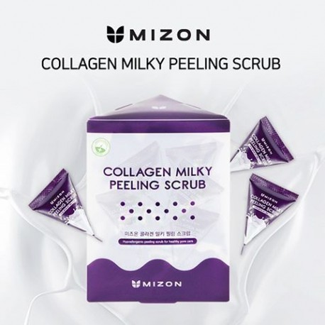 MIZON COLLAGEN MILKY PEELING SCRUB 7G X 24