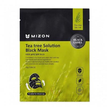 MIZON TEA TREE SOLUTION BLACK MASK